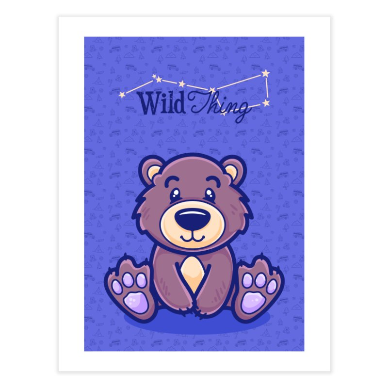 The Great Outdoors – Wild Thing Home Fine Art Print by Bálooie's Artist Shop