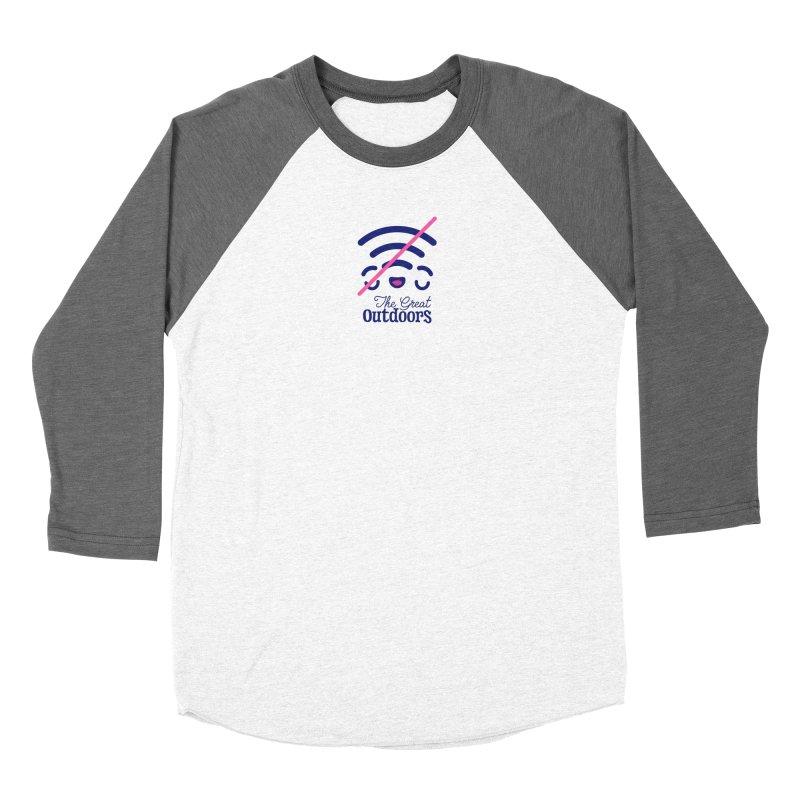 The Great Outdoors – No Signal Women's Longsleeve T-Shirt by Bálooie's Artist Shop