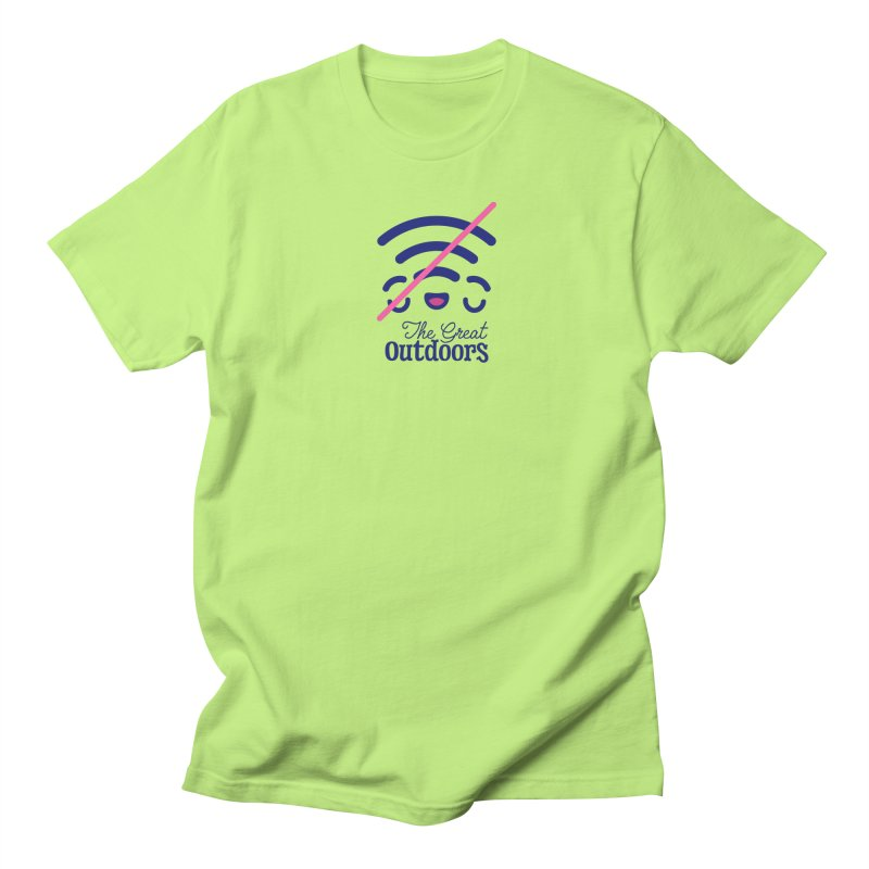 The Great Outdoors – No Signal Men's T-Shirt by Bálooie's Artist Shop