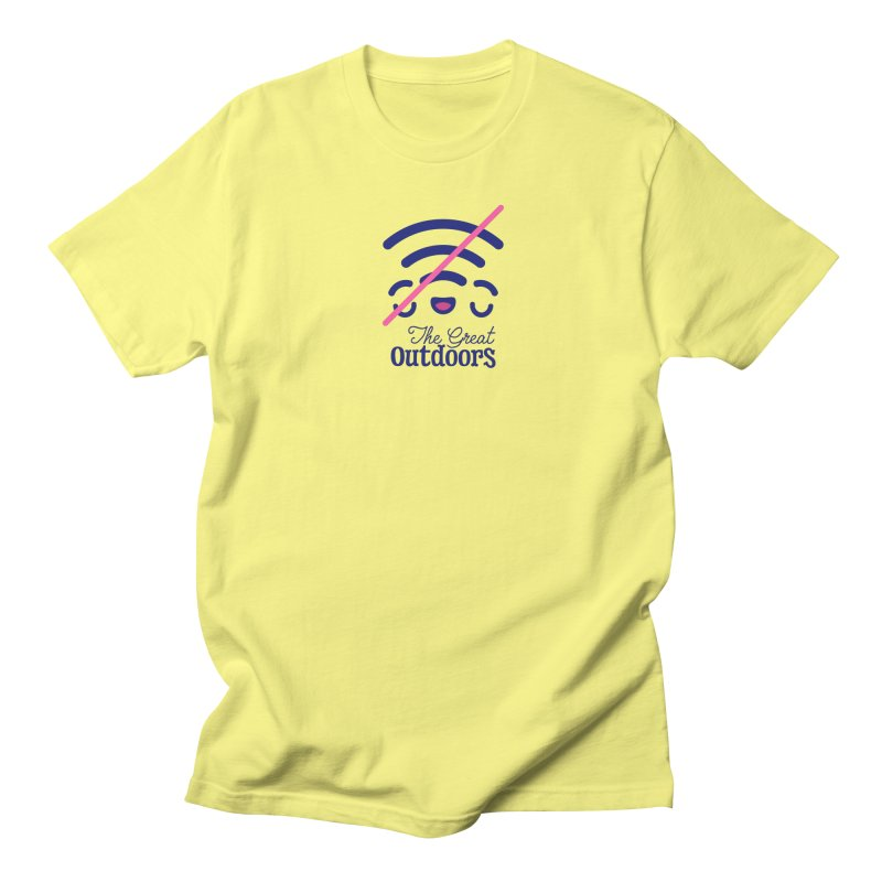 The Great Outdoors – No Signal Women's T-Shirt by Bálooie's Artist Shop