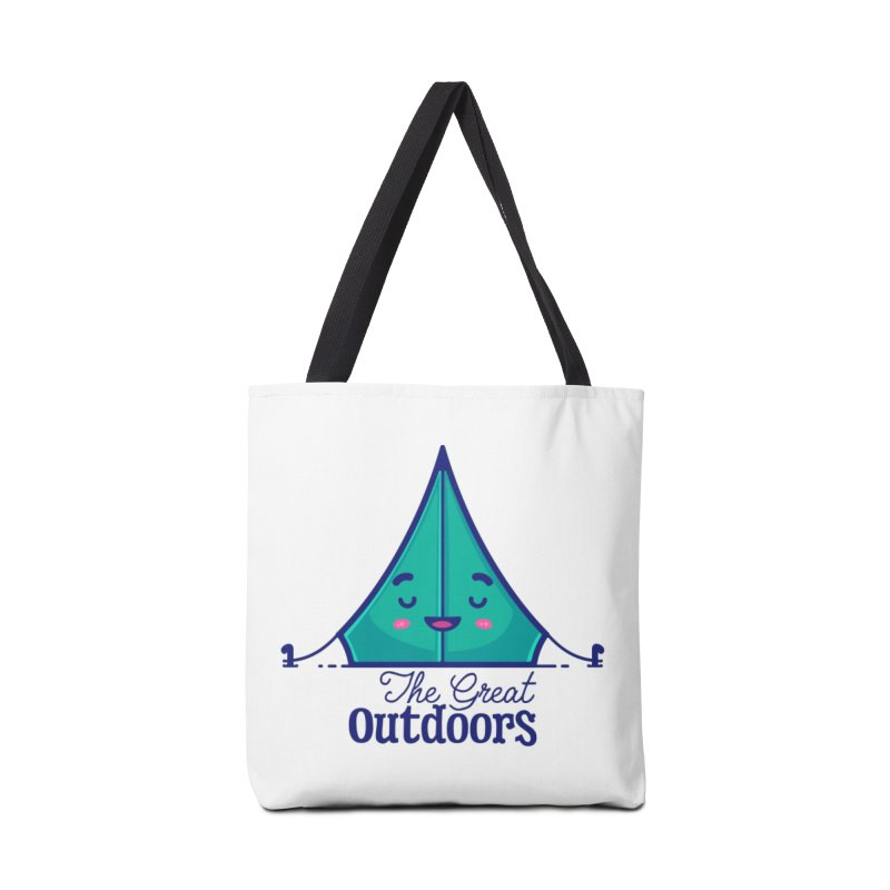 The Great Outdoors – Tent Accessories Bag by Bálooie's Artist Shop