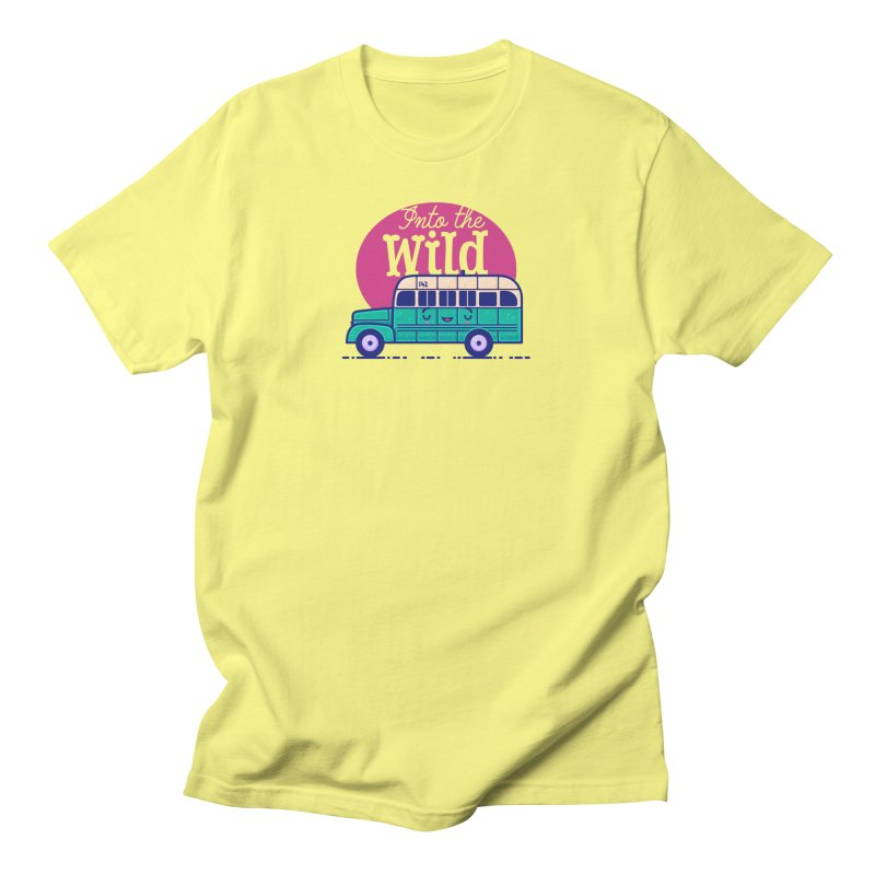 The Great Outdoors – Into the Wild Men's T-Shirt by Bálooie's Artist Shop
