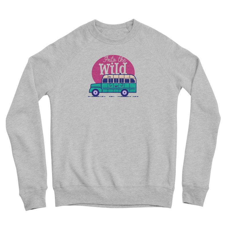 The Great Outdoors – Into the Wild Men's Sweatshirt by Bálooie's Artist Shop