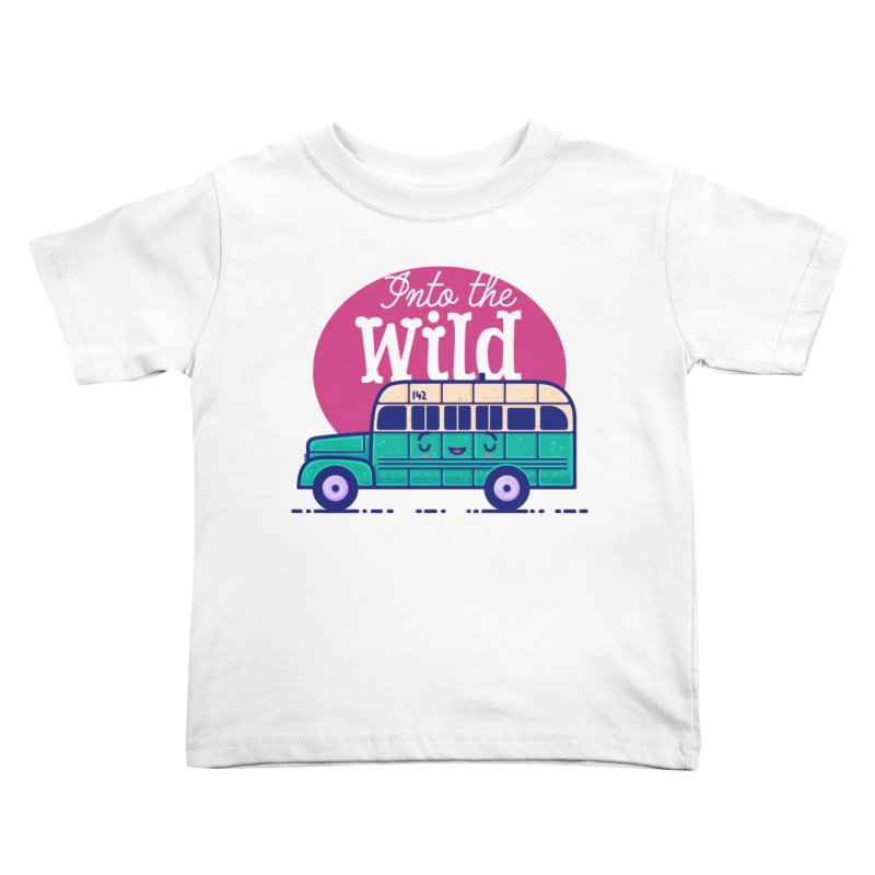 The Great Outdoors – Into the Wild Kids Toddler T-Shirt by Bálooie's Artist Shop