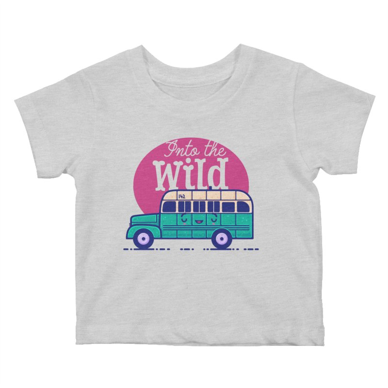 The Great Outdoors – Into the Wild Kids Baby T-Shirt by Bálooie's Artist Shop