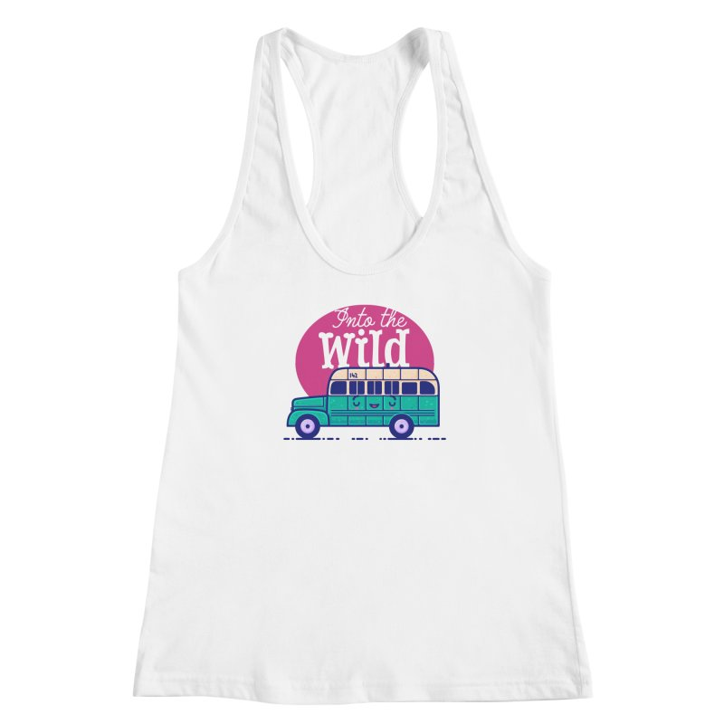The Great Outdoors – Into the Wild Women's Tank by Bálooie's Artist Shop