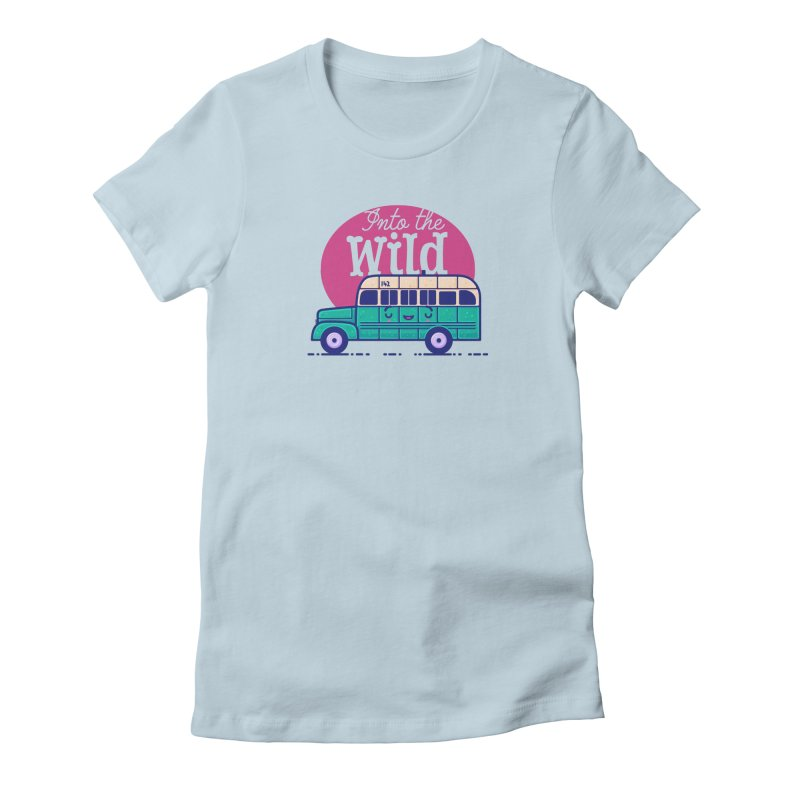 The Great Outdoors – Into the Wild Women's T-Shirt by Bálooie's Artist Shop