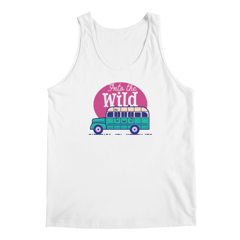 The Great Outdoors – Into the Wild Men's Tank by Bálooie's Artist Shop
