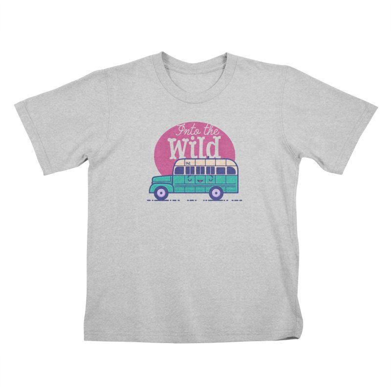 The Great Outdoors – Into the Wild Kids T-Shirt by Bálooie's Artist Shop