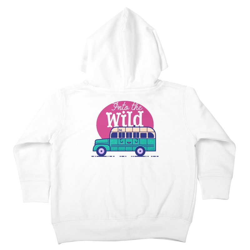 The Great Outdoors – Into the Wild Kids Toddler Zip-Up Hoody by Bálooie's Artist Shop