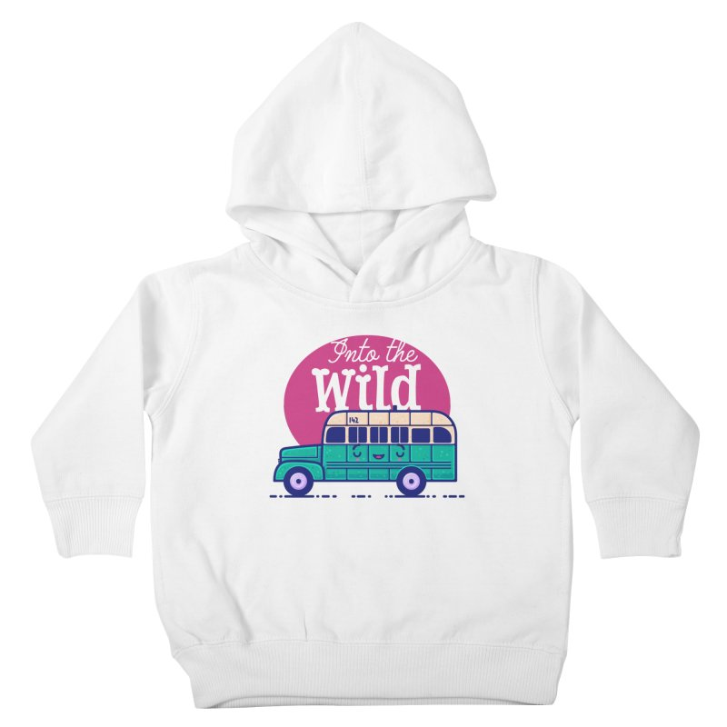 The Great Outdoors – Into the Wild Kids Toddler Pullover Hoody by Bálooie's Artist Shop