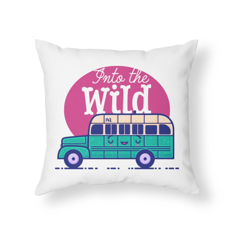 The Great Outdoors – Into the Wild Home Throw Pillow by Bálooie's Artist Shop