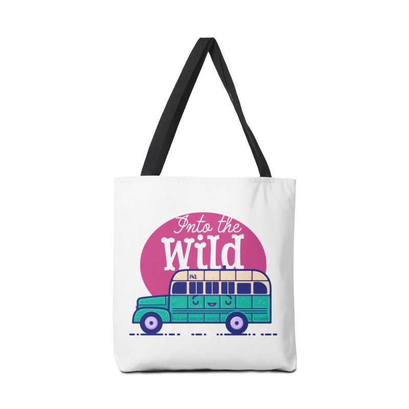 The Great Outdoors – Into the Wild Accessories Bag by Bálooie's Artist Shop