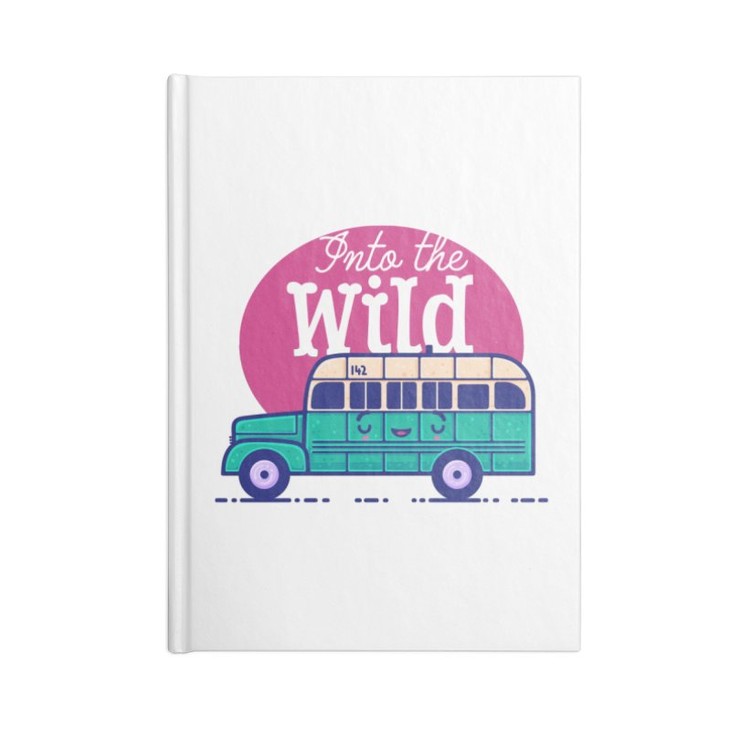 The Great Outdoors – Into the Wild Accessories Notebook by Bálooie's Artist Shop