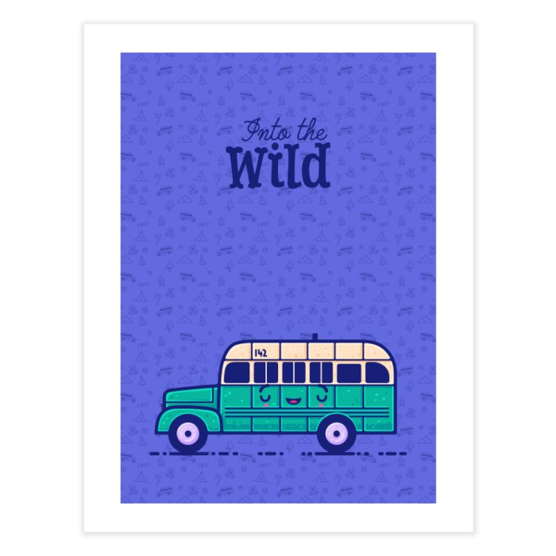 The Great Outdoors – Into the Wild Home Fine Art Print by Bálooie's Artist Shop
