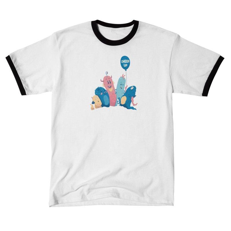 Cheer Up! Men's T-Shirt by Bálooie's Artist Shop