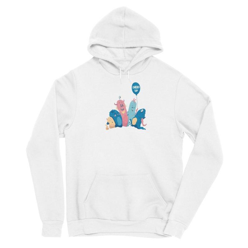 Cheer Up! Women's Pullover Hoody by Bálooie's Artist Shop