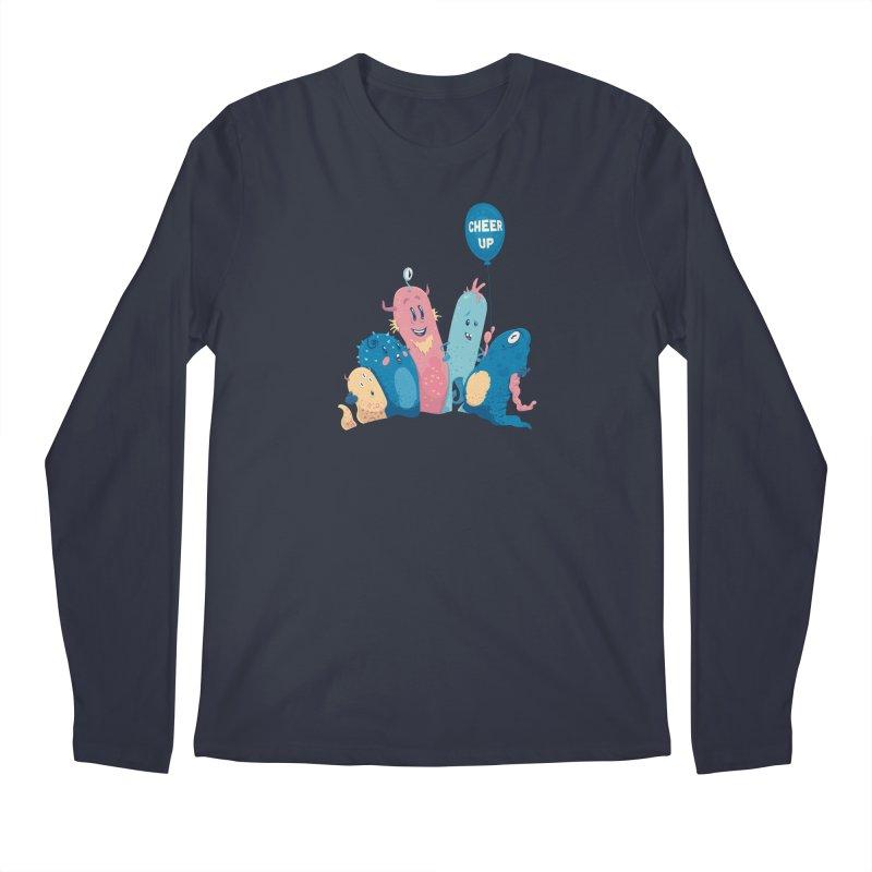 Cheer Up! Men's Longsleeve T-Shirt by Bálooie's Artist Shop