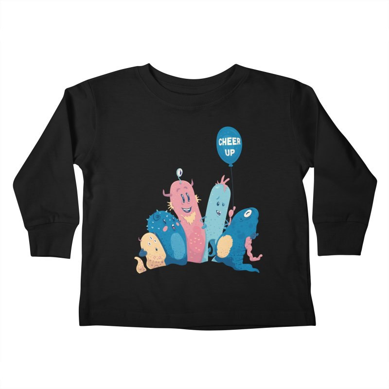 Cheer Up! Kids Toddler Longsleeve T-Shirt by Bálooie's Artist Shop