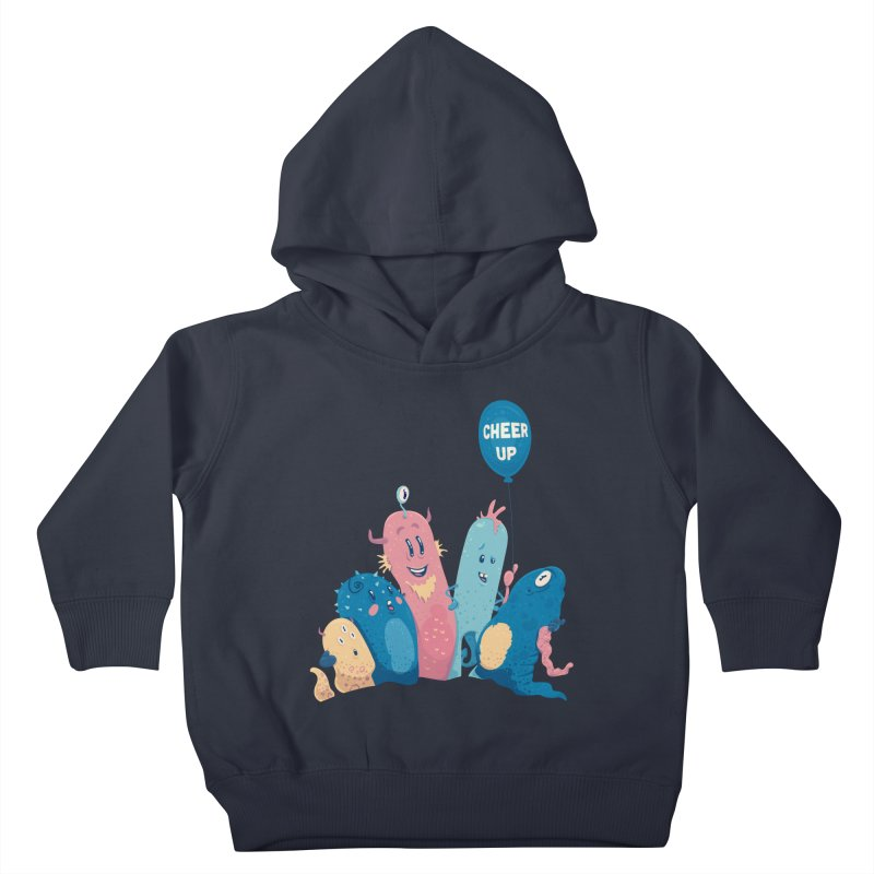 Cheer Up! Kids Toddler Pullover Hoody by Bálooie's Artist Shop