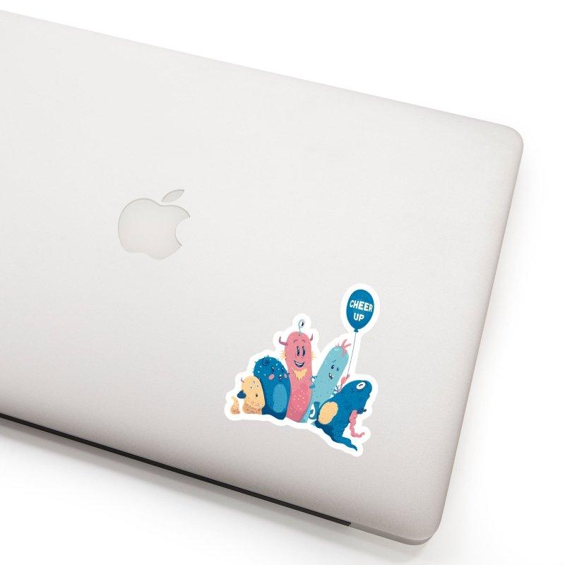 Cheer Up! Accessories Sticker by Bálooie's Artist Shop