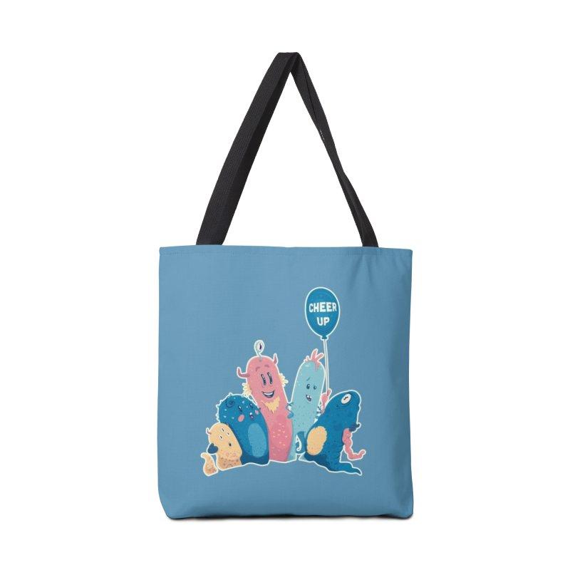 Cheer Up! Accessories Bag by Bálooie's Artist Shop