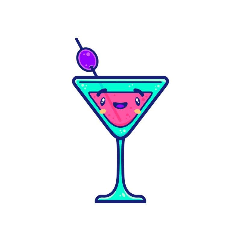 Tropicana Sticker Collection – Cocktail Accessories Button by Bálooie's Artist Shop