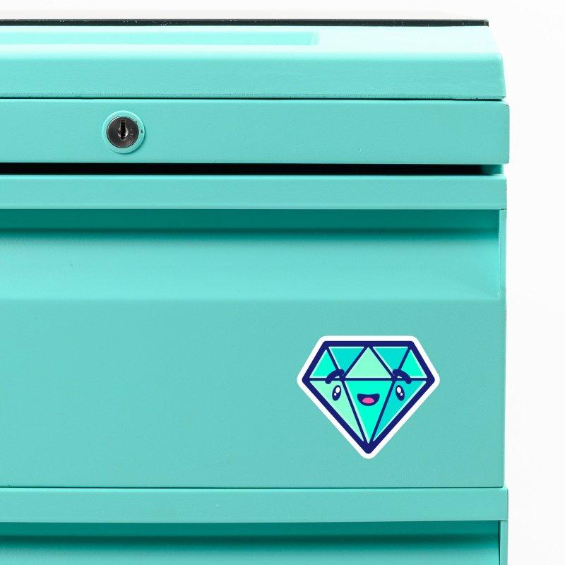 Tropicana Sticker Collection – Diamond Accessories Magnet by Bálooie's Artist Shop