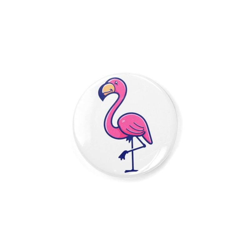 Tropicana Sticker Collection – Flamingo Accessories Button by Bálooie's Artist Shop