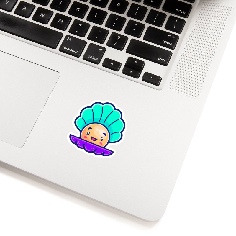 Tropicana Sticker Collection – Shell Accessories Sticker by Bálooie's Artist Shop