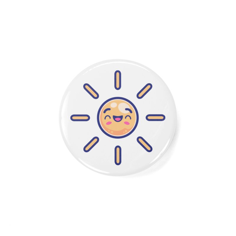 Tropicana Sticker Collection – Sun Accessories Button by Bálooie's Artist Shop