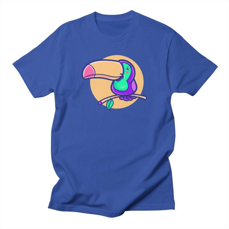 Tropicana Summer Vibes – Toucan Men's T-Shirt by Bálooie's Artist Shop