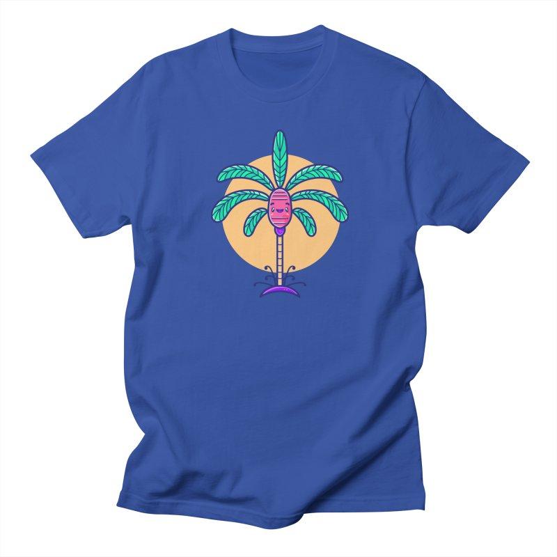 Tropicana Summer Vibes – Palm Men's T-Shirt by Bálooie's Artist Shop