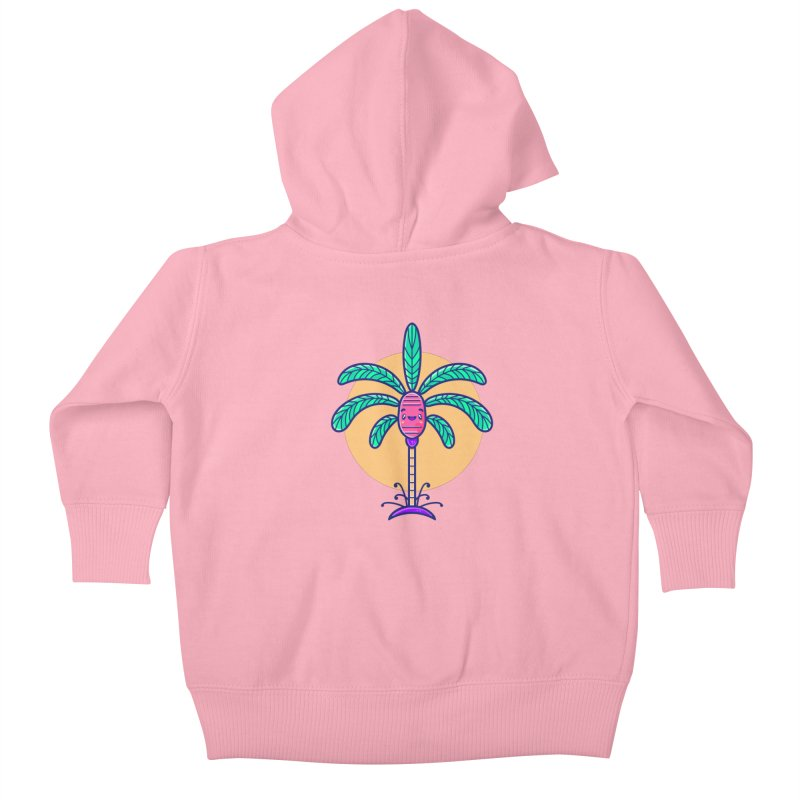 Tropicana Summer Vibes – Palm Kids Baby Zip-Up Hoody by Bálooie's Artist Shop