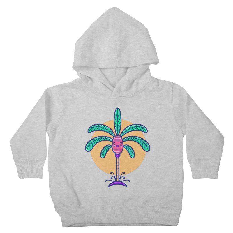 Tropicana Summer Vibes – Palm Kids Toddler Pullover Hoody by Bálooie's Artist Shop