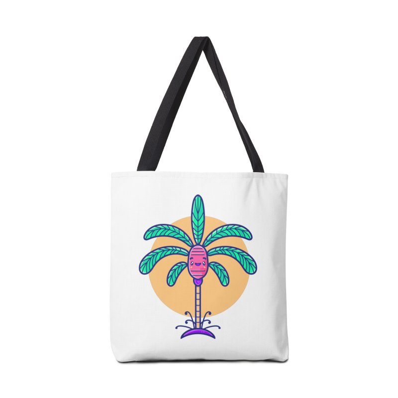 Tropicana Summer Vibes – Palm Accessories Bag by Bálooie's Artist Shop