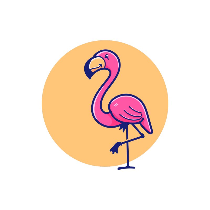 Tropicana Summer Vibes – Flamingo Home Throw Pillow by Bálooie's Artist Shop