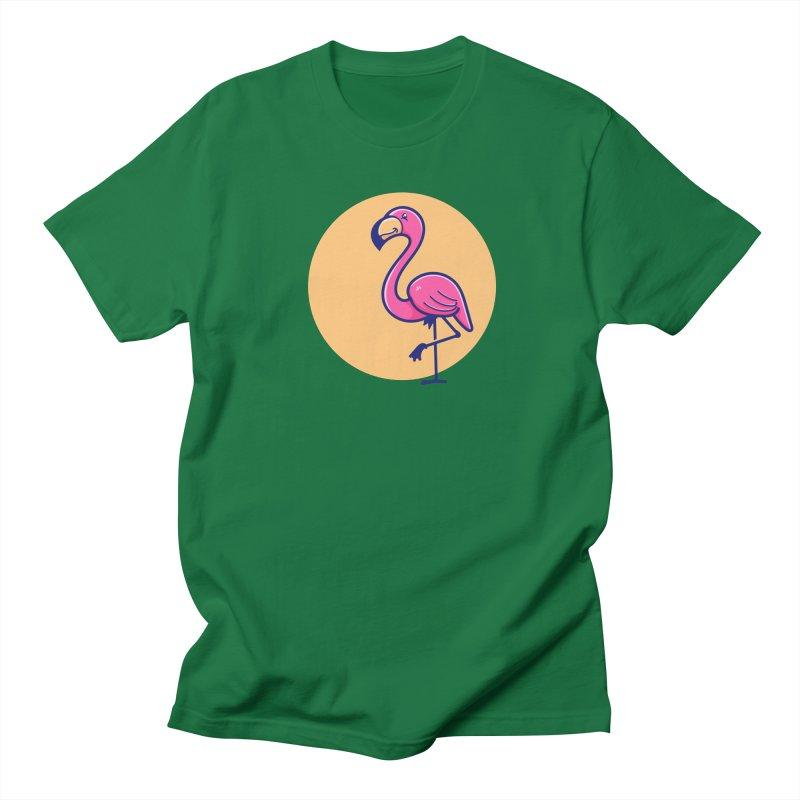 Tropicana Summer Vibes – Flamingo Women's T-Shirt by Bálooie's Artist Shop