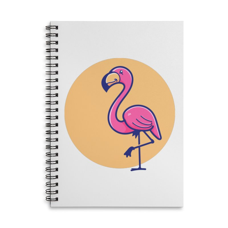 Tropicana Summer Vibes – Flamingo Accessories Notebook by Bálooie's Artist Shop