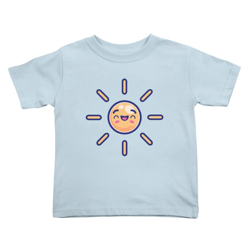Tropicana Summer Vibes – Sunshine Kids Toddler T-Shirt by Bálooie's Artist Shop