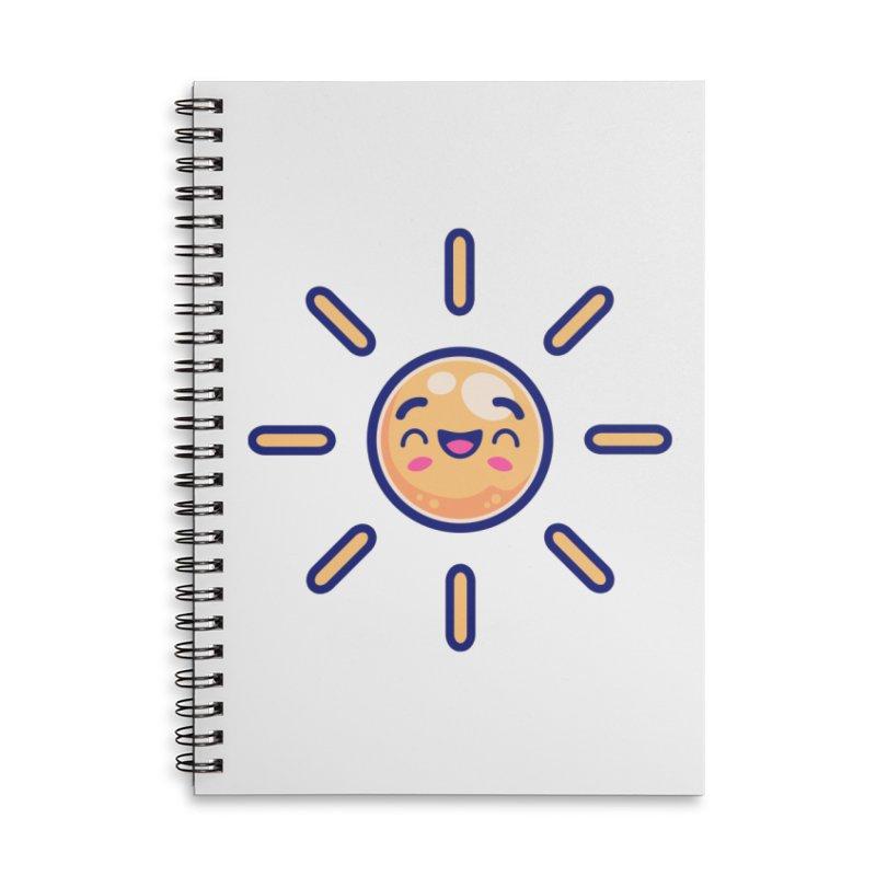 Tropicana Summer Vibes – Sunshine Accessories Notebook by Bálooie's Artist Shop