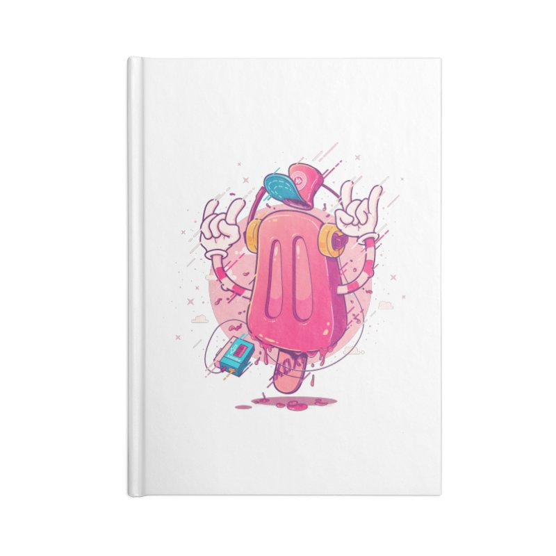 POPsicle Accessories Notebook by Bálooie's Artist Shop
