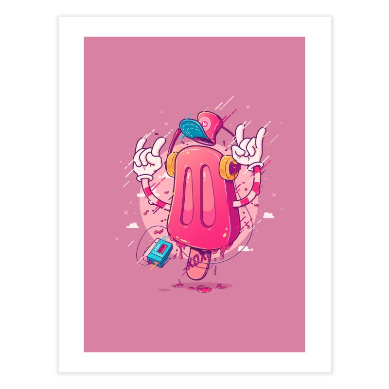 POPsicle Home Fine Art Print by Bálooie's Artist Shop