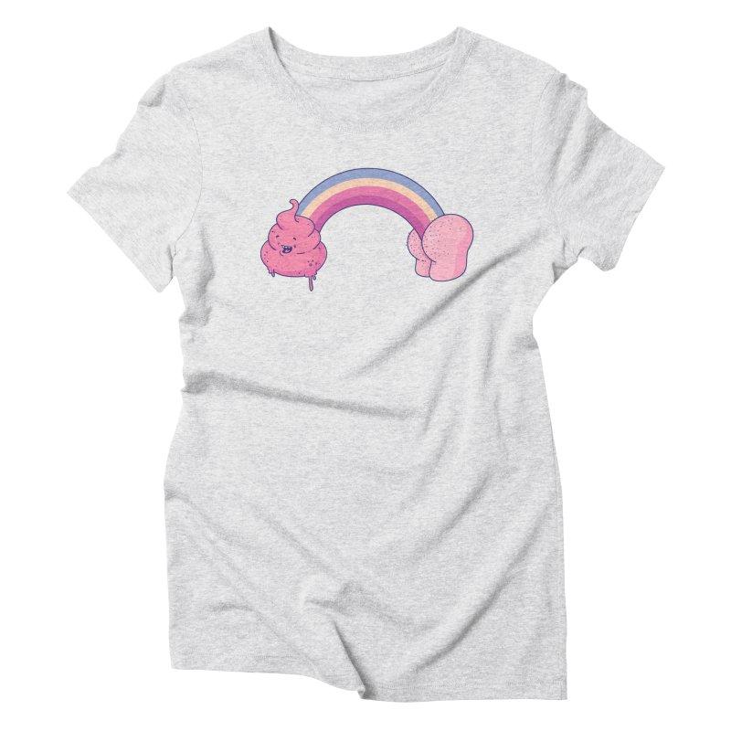 Poopbow Women's T-Shirt by Bálooie's Artist Shop