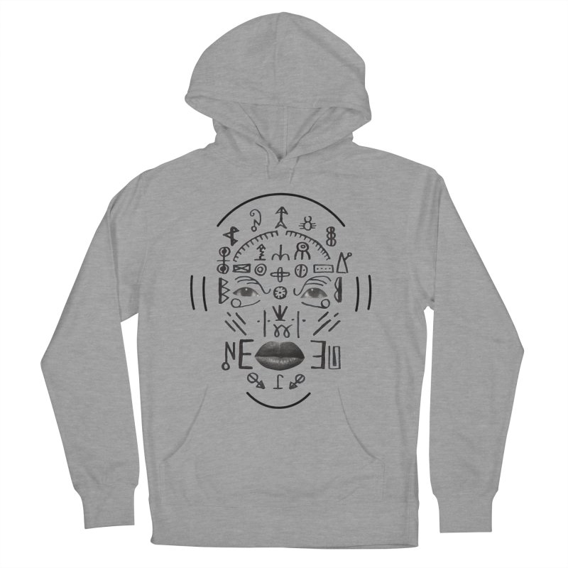 HDDN LNGO Men's French Terry Pullover Hoody by Trevor Davis's Artist Shop