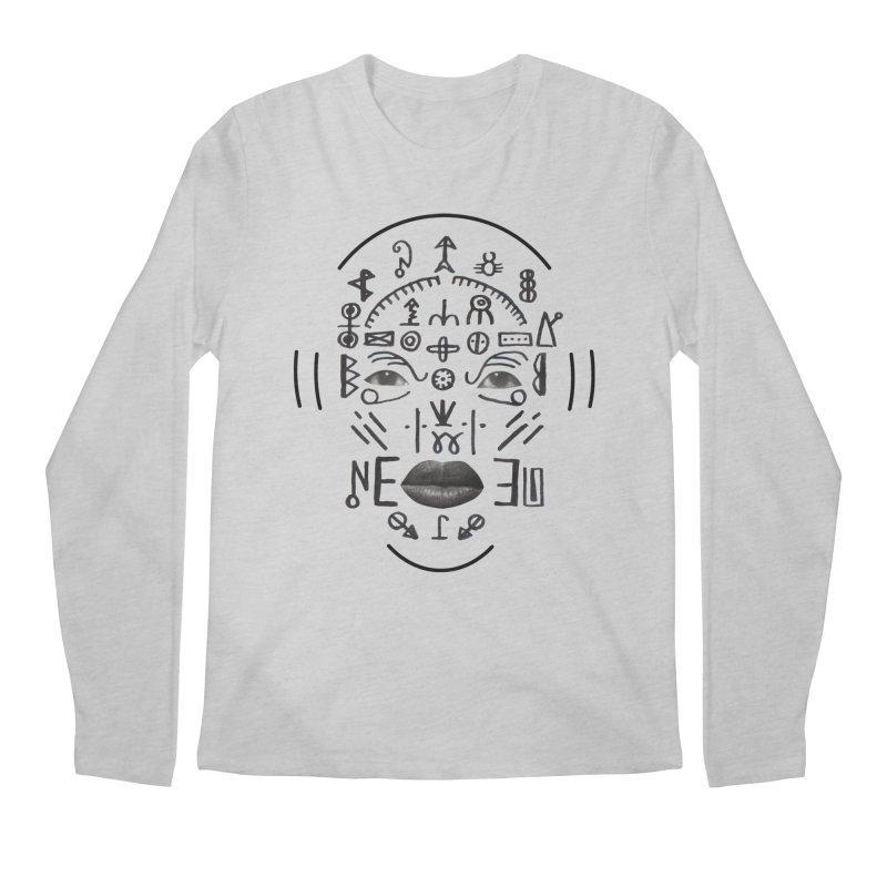 HDDN LNGO Men's Regular Longsleeve T-Shirt by Trevor Davis's Artist Shop