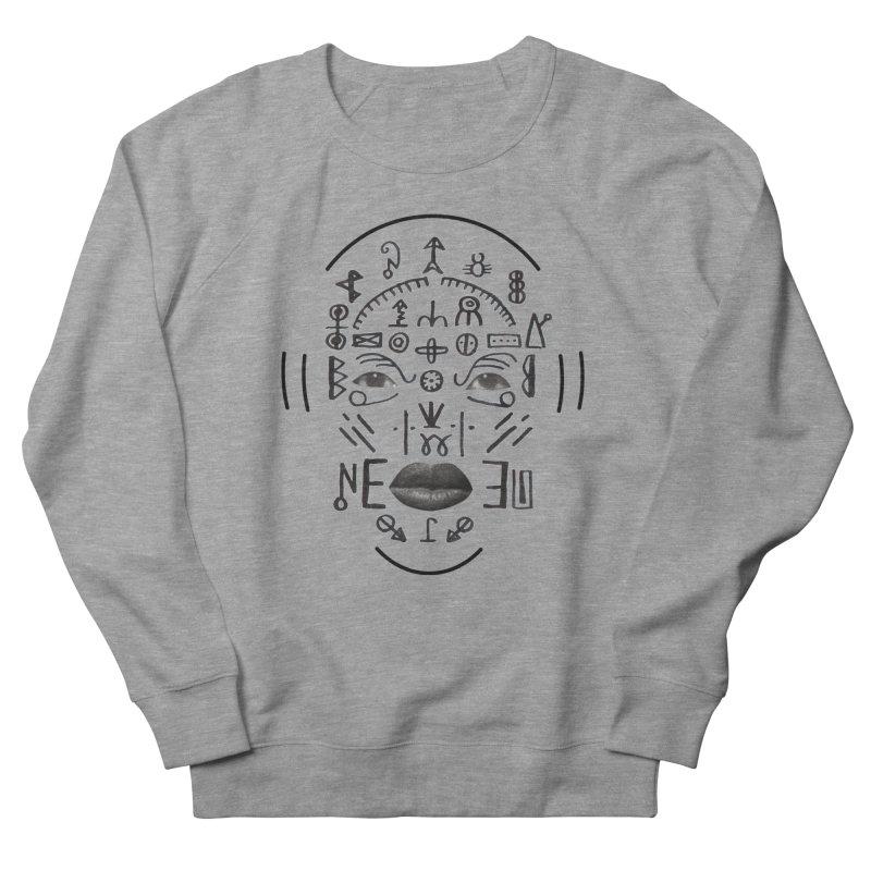 HDDN LNGO Men's French Terry Sweatshirt by Trevor Davis's Artist Shop