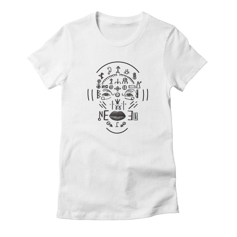 HDDN LNGO Women's T-Shirt by Trevor Davis's Artist Shop