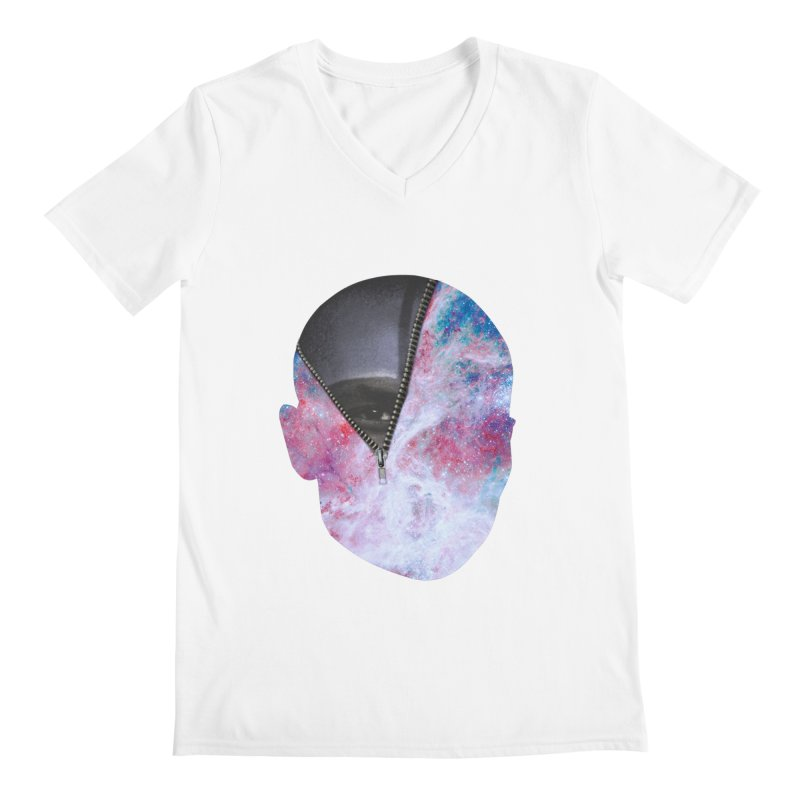 YOUNIVERSE Men's V-Neck by Trevor Davis's Artist Shop