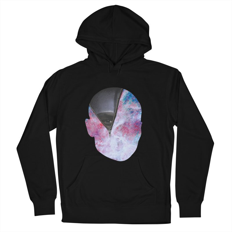 YOUNIVERSE Men's French Terry Pullover Hoody by Trevor Davis's Artist Shop